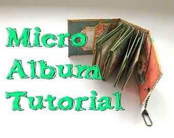 Tutorial #18: Micro Album 'Fresh & Bright' (aka Little Miss)