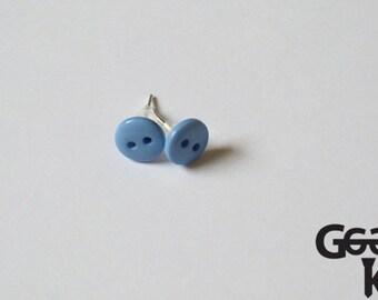 Button Stud Earring