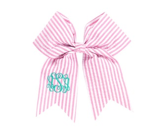 Personalized Hair Bows Hairbows Monogram