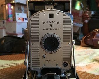 Vintage Polaroid Model 95A Land Camera Retro Analog Instant Film