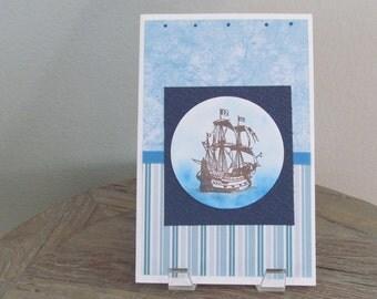 ship at sea card