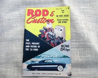 "June 1955 Rod & Custom ""Little Pages"" Magazine"