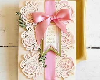 Garden Mum Thank You Card