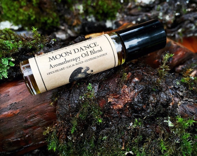 MOON DANCE • Aromatherapy Roll On Blend • Open Heart + Calm Mind + Centered Spirit • Earthy + Rich + Grounding + Soothing