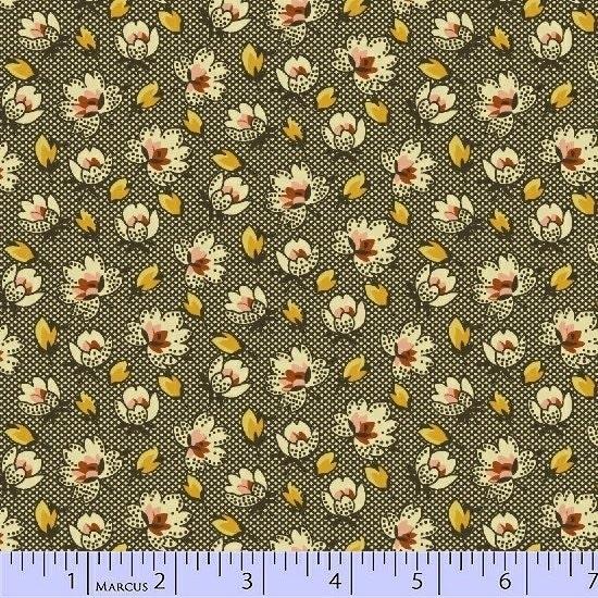 Molly B S 1800 S Civil War Fabric Romantic Renaissance