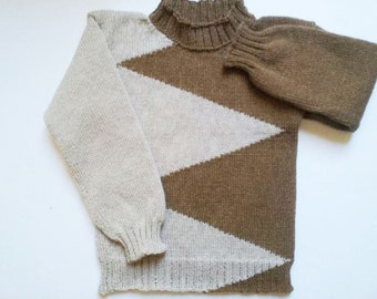 Knitted sweater   for children 6 years