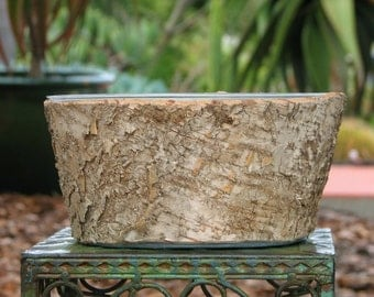 Earthy Bark  4x8  Plant Container