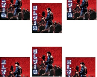 Elvis Presley - Shine – Set of 6 Greeting Cards - Free Shipping