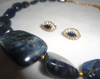 A magnificent Natural Blue Sapphire Gemstone Necklace******.