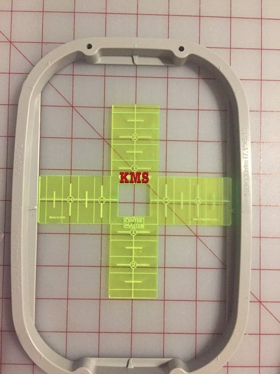 Embroidery Centering Ruler Acrylic Centering Ruler Brother