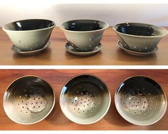 handmade berry bowl