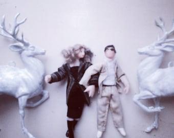 LOVELOVELOVE Couple gift copy dolls Christmas reserved