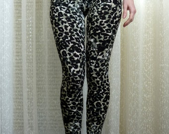 Womens Yoga Leggings, Animal Print Leggings, Cheetah Print Leggings, Leopard Leggings, Camo Leggings Patterned Leggings Workout Pants Tights