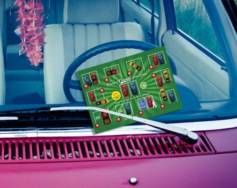 NEW! Single-Sided Bad Parking Card - 5x7 - Digital File