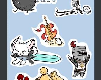 Dark Souls Stickers