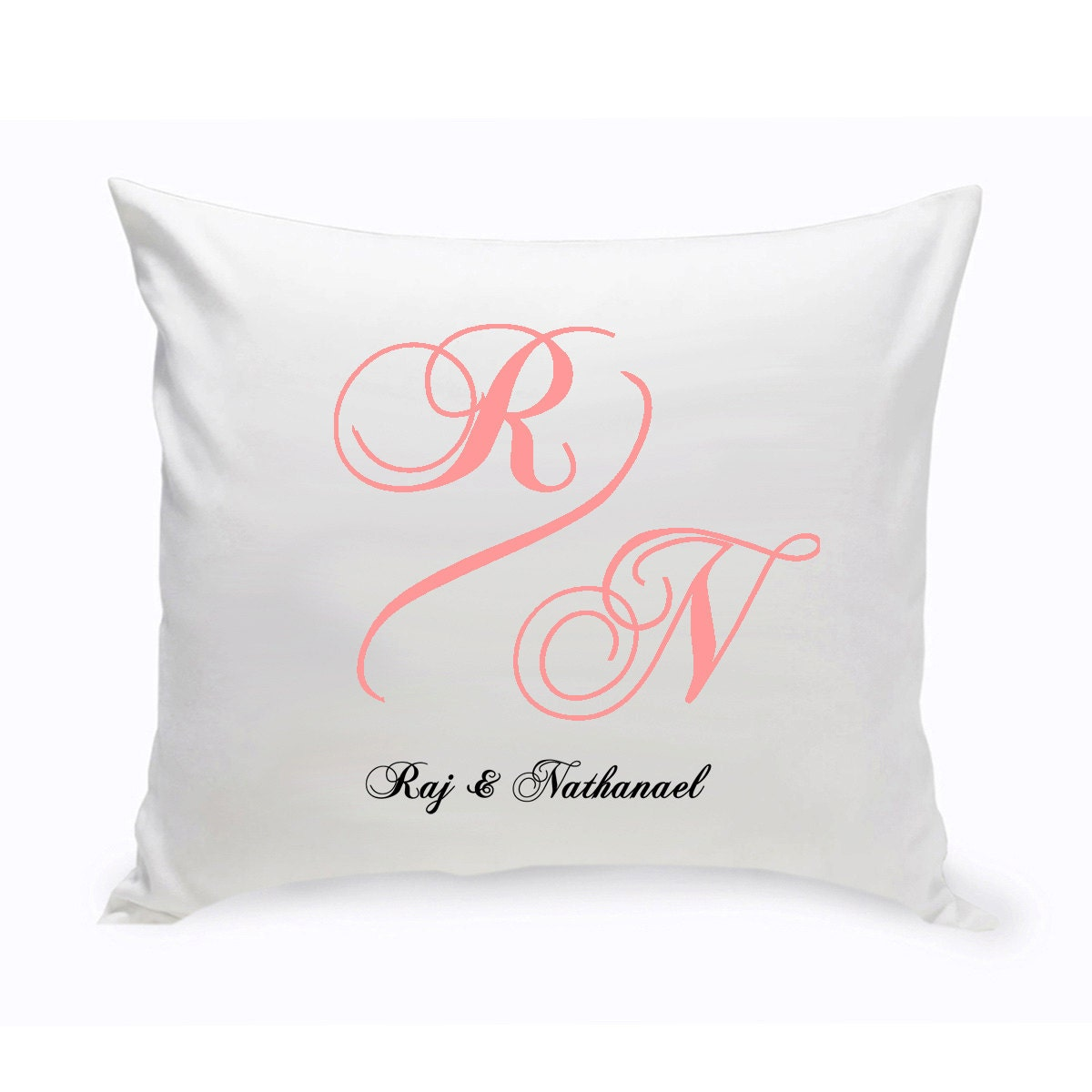 Throw Pillows Custom : Personalized Couples Unity Throw Pillow Couples Personalized