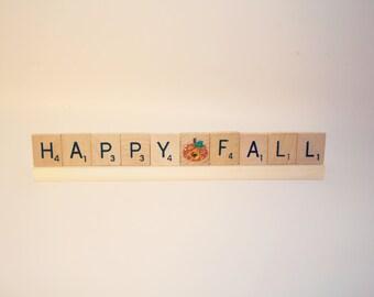 Happy Fall, Happy Fall Sign, Happy Fall Decor, Fall Decor, Fall Sign, Pumpkin Sign, Halloween Sign, Halloween Baby, Pumpkin Decoration, Fall