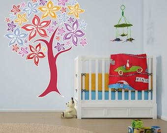 Blooming Tree Vinyl Wall Art