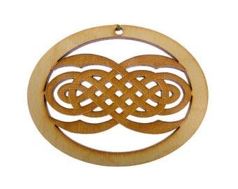 Celtic Ornament - Irish Ornaments - Celtic Design Ornament- Celtic Knot Ornament - Celtic Decor - Irish Ornament - Personalized Free