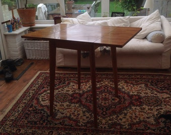 Retro side table drop leaf
