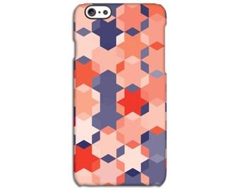 Geometric Coloured Hexagon Case for iPhone 4/4S 5/5S 5C 6/6S 6/6S Plus SE