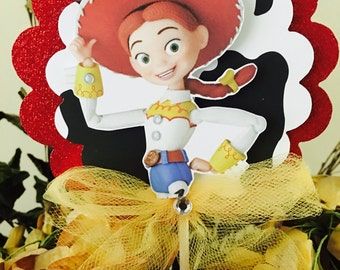 Jessie from toys story centerpiece , Jessie centerpiece , toy story centerpiece