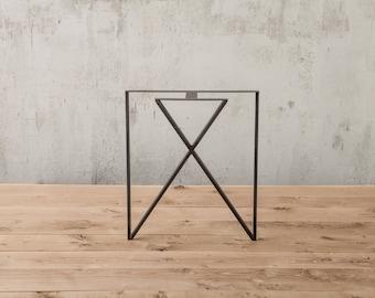 Beautiful Inside Out Table Leg , Metal Table Leg , Diy Furniture , Modern , Vintage ,