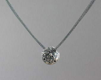 Floating Planet Necklace