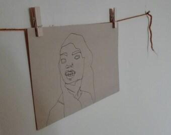 Illustrative hand drawing