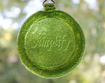 Green Simplify Suncatcher