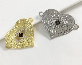 10pcs wholesale   evil eye connector,evil eye bracelet,