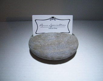 Business Card Holder/ Natural Stone Business Card Holder/Desk Card Holder, Business Card Holder