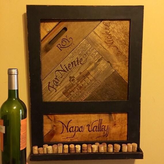 Abstract wine wall art wine decor handmade napa valley - Napa valley home decor decor ...