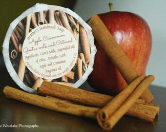 Apple Cinnamon Oatmeal Soap