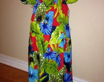 Peasant dress w/ flutter sleeves- size 6