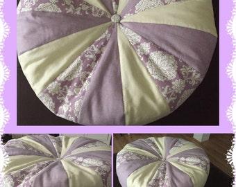 Large Pinwheel Floor Pillow