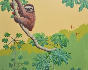 Three- toed Sloth