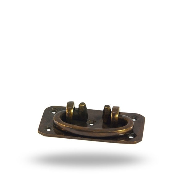Wood Mode Brookhaven Hardware: Swivel Handle For A Cabinet Drawers Or Hope Chest In Brushed
