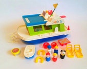 Vintage Houseboat Fisher-...