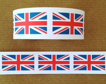 Paper Chain Garland Decoration - British Tea Party/Union Jack/London/Royal/Patriotic - 2.5m (8ft)