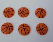 Basketball Resin sports Cabochons Flat Backs Scrapbook Hair Accessory making Supplies Embellishments AZ6192