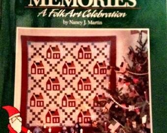 Christmas Memories  A Folk Art Celebration by Nancy J. Martin