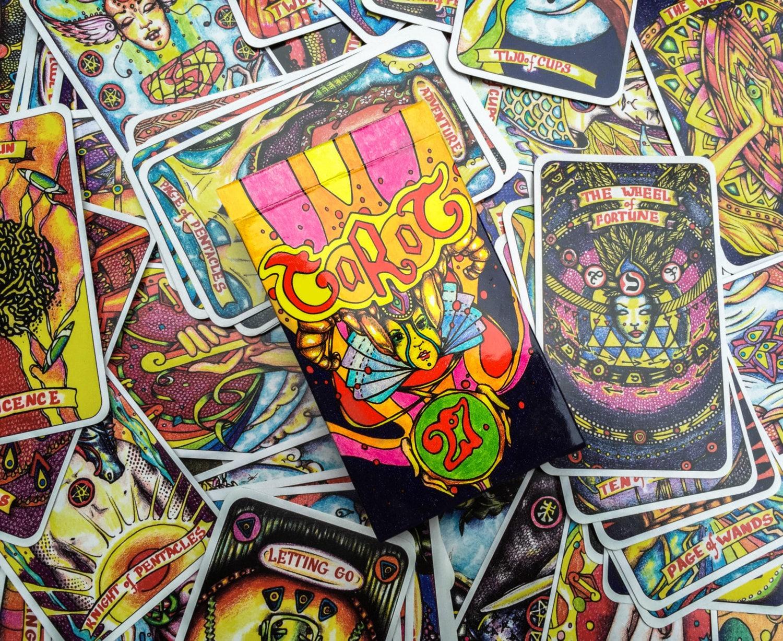 Illusori Tarot Deck Spiritual Tarot Reading Cards 78