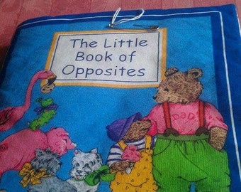 The Little Book of Opposites soft book