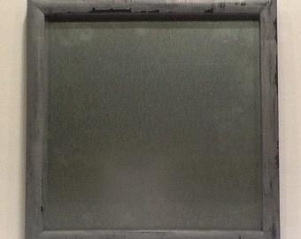Shabby Chic Framed Magnetic Board