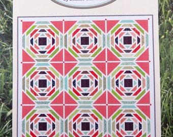 Playful Quilt Kit - Moda - Bonnie & Camille - Vintage Picnic - Cotton Way Large Quilt