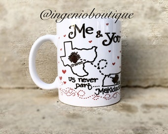valentine's day gift ideas for bffs - best friends mug two sided two mugs friend mug mugs for