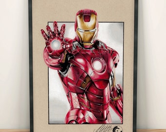 Ironman Limited Edition Print