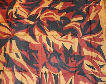 Vintage Tancho silk scarf