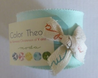 """Cotton Fabric,Color Theory~by Moda Jr. Jelly Roll,~ 20 ~2.5"""" x44-inch Strips~ Fast Shipping,JR177"""